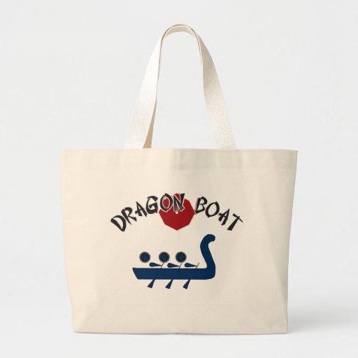 Diseño completamente adaptable del barco del dragó bolsa tela grande