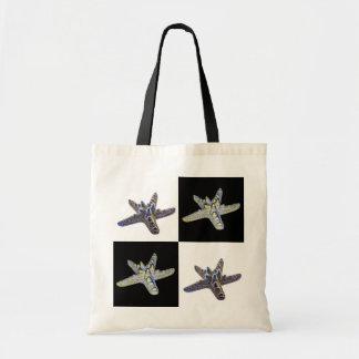 Diseño compuesto de las estrellas de mar bolsa tela barata