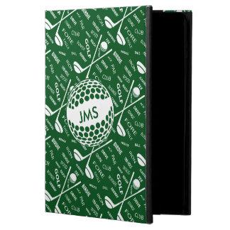 Diseño con monograma para el golfista