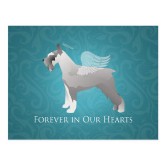 Diseño conmemorativo del mascota del Schnauzer Postales