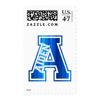 Diseño conocido - Aiden Timbre Postal