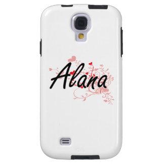 Diseño conocido artístico de Alana con los Funda Para Galaxy S4