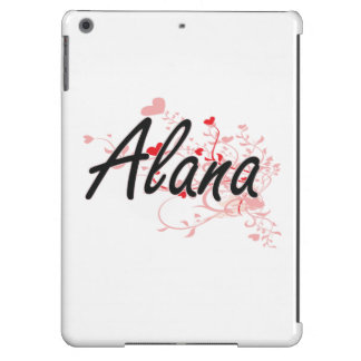 Diseño conocido artístico de Alana con los Funda Para iPad Air