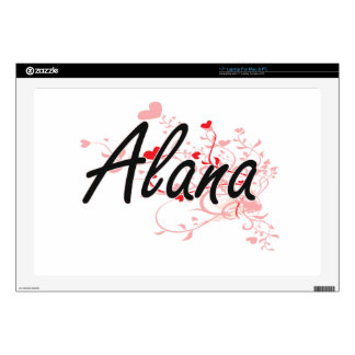Diseño conocido artístico de Alana con los Portátil 43,2cm Skin