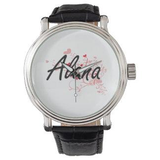 Diseño conocido artístico de Alana con los Reloj De Mano