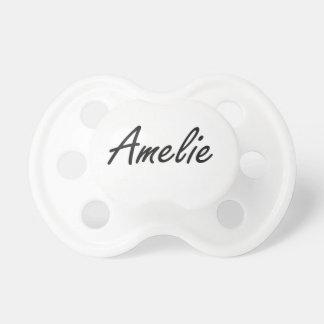 Diseño conocido artístico de Amelie Chupete De Bebé