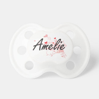 Diseño conocido artístico de Amelie con los Chupetes De Bebe