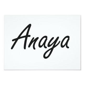 """Diseño conocido artístico de Anaya Invitación 5"""" X 7"""""""