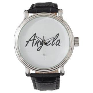 Diseño conocido artístico de Angela Relojes