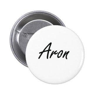 Diseño conocido artístico de Aron Pin Redondo 5 Cm