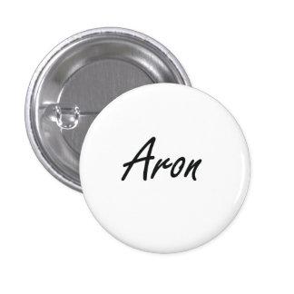 Diseño conocido artístico de Aron Pin Redondo 2,5 Cm