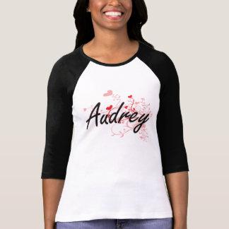 Diseño conocido artístico de Audrey con los Playera