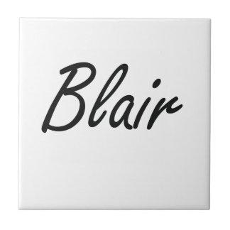 Diseño conocido artístico de Blair Azulejo Cuadrado Pequeño