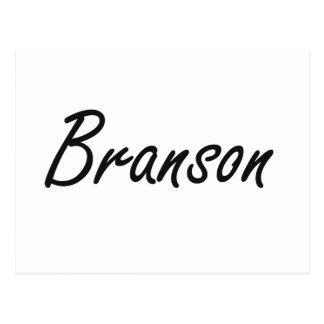 Diseño conocido artístico de Branson Tarjetas Postales