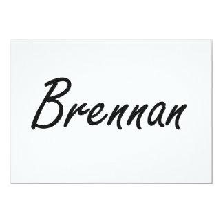 """Diseño conocido artístico de Brennan Invitación 5"""" X 7"""""""