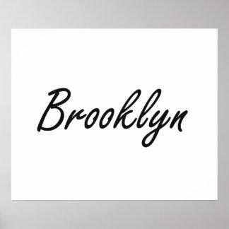 Diseño conocido artístico de Brooklyn Póster