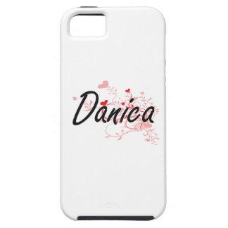 Diseño conocido artístico de Danica con los iPhone 5 Carcasas