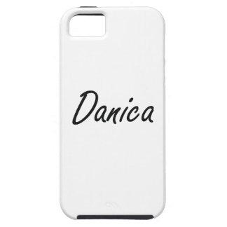 Diseño conocido artístico de Danica iPhone 5 Funda