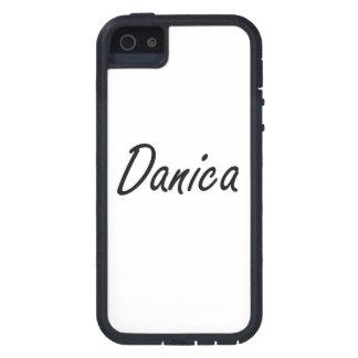 Diseño conocido artístico de Danica iPhone 5 Fundas