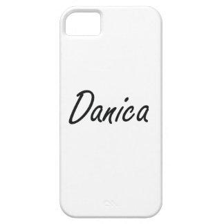 Diseño conocido artístico de Danica iPhone 5 Carcasa