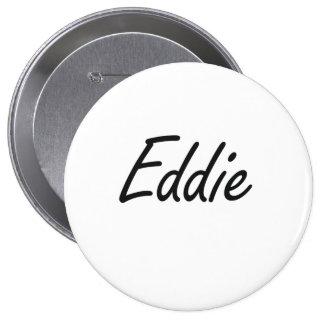 Diseño conocido artístico de Eddie Pin Redondo 10 Cm