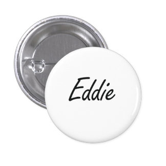 Diseño conocido artístico de Eddie Pin Redondo 2,5 Cm