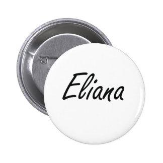 Diseño conocido artístico de Eliana Pin Redondo 5 Cm