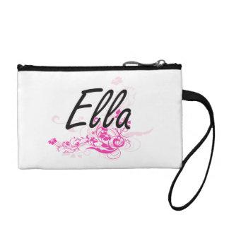 Diseño conocido artístico de Ella con las flores