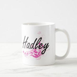 Diseño conocido artístico de Hadley con las flores Taza