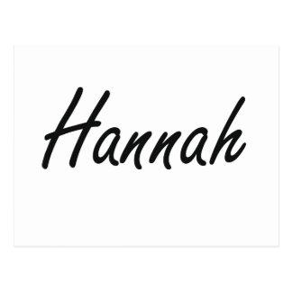 Diseño conocido artístico de Hannah Postal