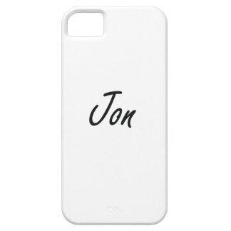 Diseño conocido artístico de Jon iPhone 5 Carcasas