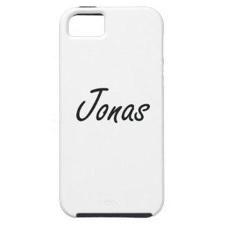 Diseño conocido artístico de Jonas iPhone 5 Funda