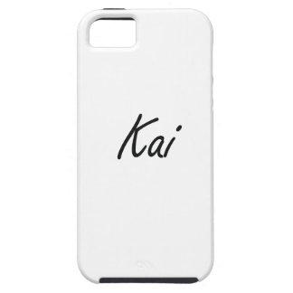 Diseño conocido artístico de Kai iPhone 5 Carcasas