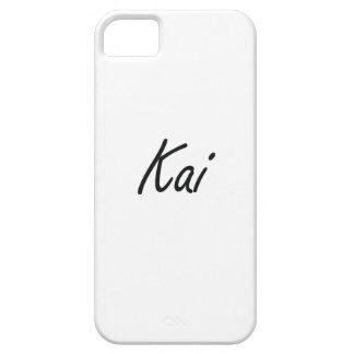 Diseño conocido artístico de Kai Funda Para iPhone 5 Barely There