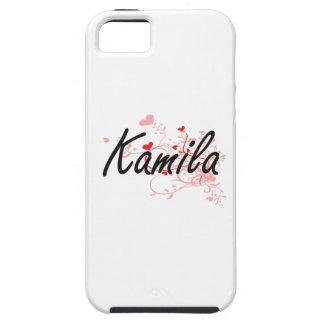 Diseño conocido artístico de Kamila con los iPhone 5 Carcasas