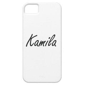 Diseño conocido artístico de Kamila iPhone 5 Funda