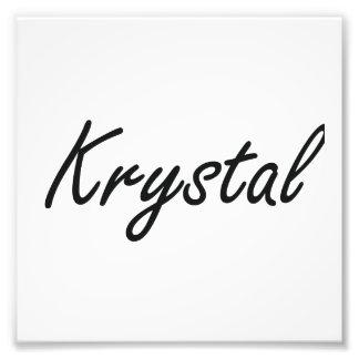 Diseño conocido artístico de Krystal Fotografía