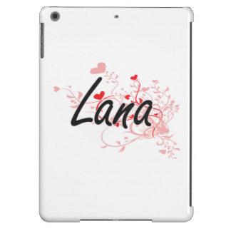 Diseño conocido artístico de Lana con los Funda Para iPad Air