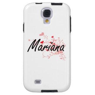 Diseño conocido artístico de Mariana con los Funda Para Galaxy S4