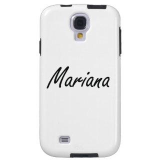 Diseño conocido artístico de Mariana Funda Para Galaxy S4