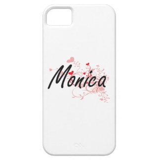 Diseño conocido artístico de Mónica con los iPhone 5 Carcasa