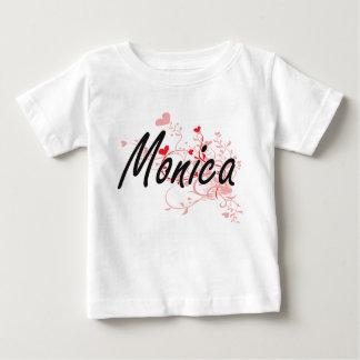 Diseño conocido artístico de Mónica con los Camisetas