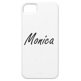 Diseño conocido artístico de Mónica iPhone 5 Carcasa