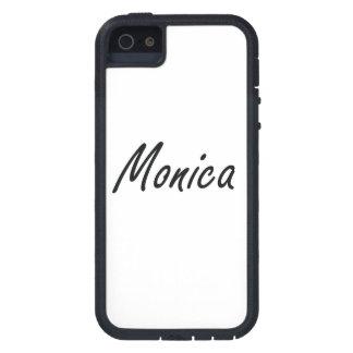 Diseño conocido artístico de Mónica iPhone 5 Funda