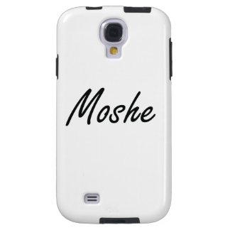 Diseño conocido artístico de Moshe Funda Para Galaxy S4