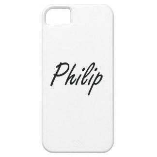 Diseño conocido artístico de Philip iPhone 5 Carcasa
