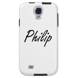 Diseño conocido artístico de Philip Funda Para Galaxy S4