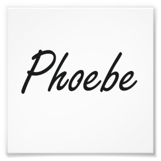 Diseño conocido artístico de Phoebe Cojinete