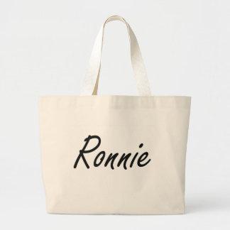 Diseño conocido artístico de Ronnie Bolsa Tela Grande
