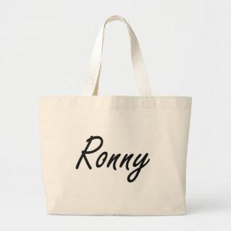 Diseño conocido artístico de Ronny Bolsa Tela Grande